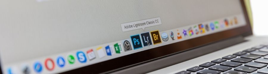Photoshop and Lightroom apps on macbook